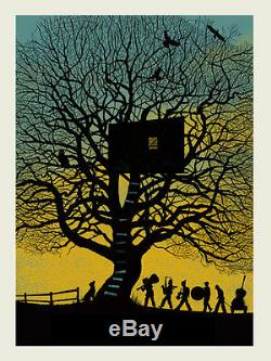 12 Dave Matthews Band TreeHouse 2010 Charlottesville Poster Methane Art Print