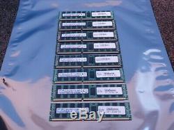 128GB 8 x 16GB Samsung M393B2K70DMB-7H9 4Rx4 PC3L-10600R-09-11-AB1-D3 Server RAM