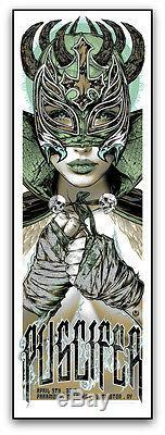 16 Puscifer Tool Huntington Green Variant Concert Poster 4/9 #/40 Rhys Cooper Sn