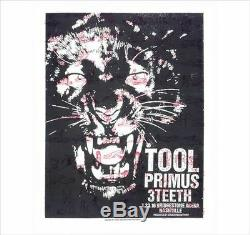 16 Tool Nashville Primus Kama Sutra Tiger Concert Poster 1/23 Ap/125 Bridgestone