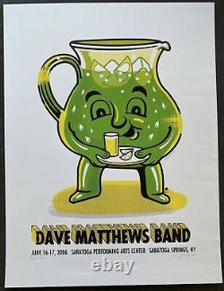2006 Dave Matthews Band poster SPAC Limited Edition
