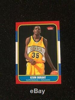 2007-08 KEVIN DURANT Fleer Retro 1986-87 ROOKIE CARD #86R-143 HOF (DMB)