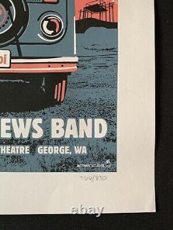 2008 Dave Matthews Band Gorge Leroi Vw Bus 8/30/08