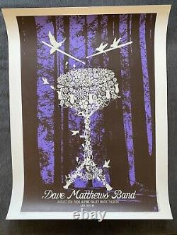 2008 Dave Matthews Band poster Limited Edition
