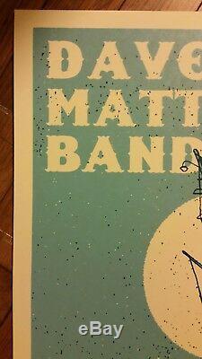 2009 DAVE MATTHEWS BAND WEST PALM BEACH N2 09 POSTER Methane Mint