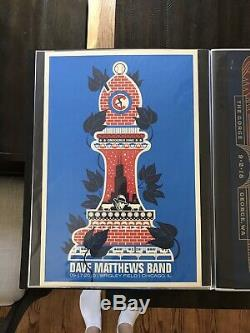 2010 Dave Matthews Band Poster Wrigley Field Chicago 09-17-2010 DMB