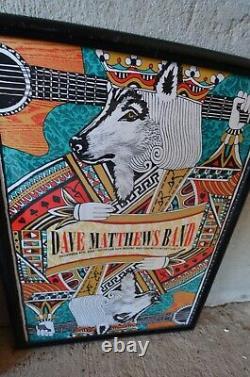 2012 Dave Matthews Band Uncasville Mohegan Sun Concert Tour Poster 12/8 #270
