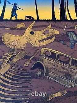 2014 Dave Matthews Band Gorge Caravan Kid Concert Poster 8/31