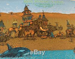 2014 Dave Matthews Band Gorge Caravan Spusta