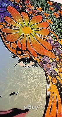 2015 Mystai Blue Sperry Muses Art Print Poster Beyond Eden 10/3 #/100 S/n Mt La