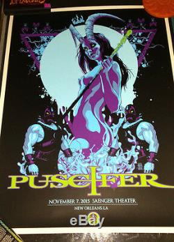 2015 Puscifer Tool New Orleans Topless Concert Poster 11/7 Vance Kelly #/175 S/n