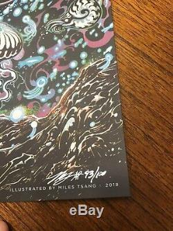 2018 Dave Matthews Band Poster Virginia Beach Miles Tsang signed AP XX/100