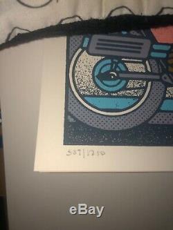 2019 Dave Matthews Band Tour Poster Summer Tour 19 Variant Signed #/1250 SPAC