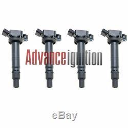 4pc Ignition Coil Jsc284 For Scion Xb 2008 2009 2010 2011 2012 2013 2.4l L4