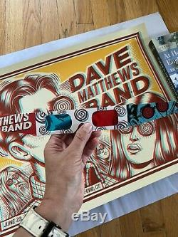 5 Poster Lot! Dave Matthews Band and Dave & Tim Radio City Amazing Collection