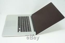 Apple MacBook Pro Core i7 2.4GHz 15in 256GB 2013 A1398 8GB DEFECTIVE DMB023