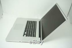 Apple MacBook Pro Core i7 2.8GHz 17in 500GB 4GB A1297 2010 DEFECTIVE DMB041
