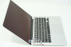 Apple Macbook Pro Core i5 2.6GHz 13 8GB RAM A1502 Late 2013 DEFECTIVE DMB049