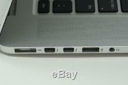 Apple Macbook Pro Core i7 2.2GHz 15in 256GB 8GB 2015 A1398 BROKEN AS-IS DMB032