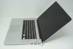 Apple Macbook Pro Core i7 2.6GHz 15in No SSD 8GB RAM A1398 2012 BROKEN DMB045