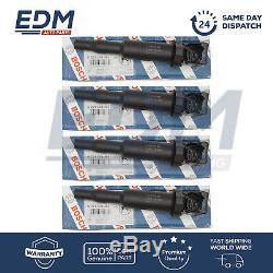 BMW E39 E46 E60 E81 E87 E90 Ignition Coils Pencil Type BOSCH 0221504464 SET OF 4