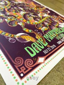 Biojelly DMB DAVE MATTHEWS BAND Poster #ed /75 In Hand Ships Today