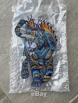 Blue Jaguar Pin by Bioworkz Dave Matthews Band DMB Limited Edition 50 Ben Kwok