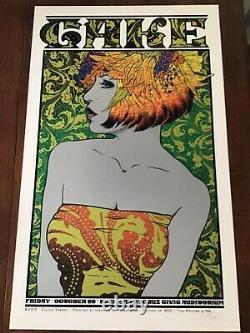 Chuck Sperry Cake Poster Santa Cruz 2013 Mint Flawless #7/300 Emek Pearl Jam U2