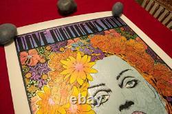 Chuck Sperry Dave Matthews Band Poster Berkeley 2014, Show Poster