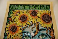Chuck Sperry Dave Matthews Band Wood Grain Var Gorge Art Print Poster George WA