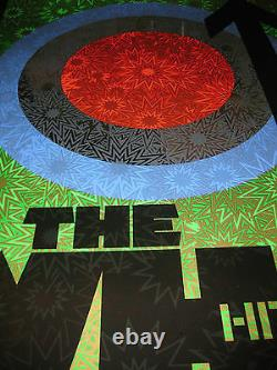 Chuck Sperry signed print. The Who Hits 50. MIRROR FOIL. WSP. DMB artist