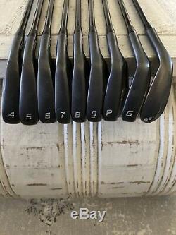 Cobra King Forged CB/MB Combo DMB Black 4-PW, GW, 56 Iron Set Stiff Mint