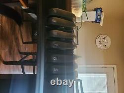 Cobra King Forged CB/MB Combo DMB Black Iron Set 4-PW Stiff Flex Steel RH