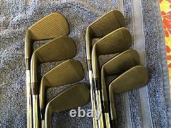Cobra King Forged Combo Cb/mb Dmb Black Iron Set 3-pw Kbs Tour 90 Stiff Shaft