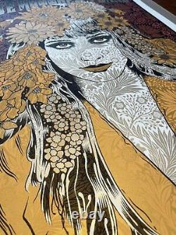 DAVE MATTHEWS BAND 7/2/2016 Alpine Valley poster by Chuck Sperry Signed #1048