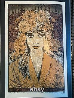 DAVE MATTHEWS BAND 7/2/2016 Alpine Valley poster by Chuck Sperry Signed X/1375