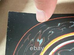 DAVE MATTHEWS BAND POSTER GORGE 9-4-21 MILES TSANG Rainbow Edition x/5 FOIL AP