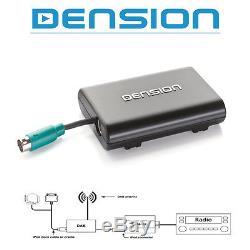 DENSION DAB/DAB+ DMB-A Tuner mit AFS + Text für GATEWAY 500S & Pro BT DBI-9901-2
