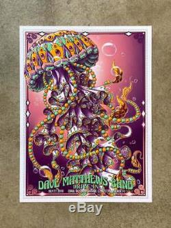 DMB Dave Matthews Band BIOJELLY Poster Drive-In Series x/75 Limited Edition