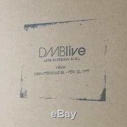DMBLIVE Vinyl Live Trax RSD 2018 Dave Matthews Band Tim Reynolds Charlottesville