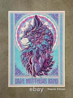 Dave Mathews Band Dmb Warehouse Show Artist Poster 100 Regular In Hand