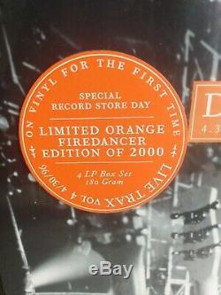 Dave Matthew's Band Live Trax Vol 4 Orange 4 Lp Vinyl Box Set #1465/2000 Rsd