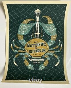 Dave Matthews And Tim Reynolds Poster, Seattle, WA 12/7/10