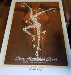 Dave Matthews Band 2009 Methane Studios poster Austin, TX Zilker Park