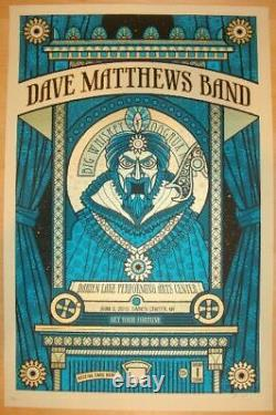 Dave Matthews Band 2010 Darien fortune teller poster Zoltar methane dmb
