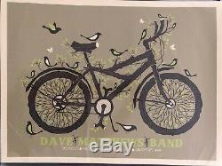 Dave Matthews Band 2010 Gorge Bike Poster