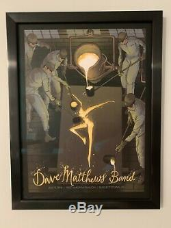 Dave Matthews Band 2016 Burgettestown Grail Poster
