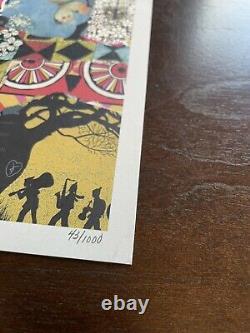 Dave Matthews Band 2017 Methane Studios Poster 25th Anniversary DMB