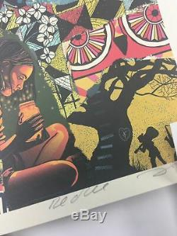 Dave Matthews Band 2017 Methane Studios poster 25th Anniversary