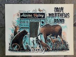 Dave Matthews Band 7/1/16 Alpine Valley poster by Methane